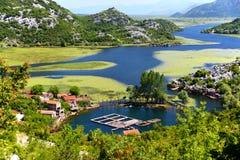Karuc village on Lake Skadar, Montenegro Royalty Free Stock Photos