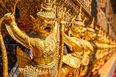 Karuda Sculpture at Wat Phra Kaew in Bangkok Royalty Free Stock Photography