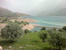 Karun-Iran Arkivfoto