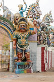 Karuppana Sami świątynia blisko Nagamalai wioski Zdjęcia Stock