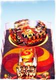 Karusell - över överkanten Royaltyfri Foto