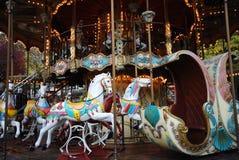 karusell 0ld Royaltyfri Foto