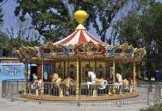 karusell Royaltyfri Fotografi