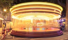 karusell arkivfoton