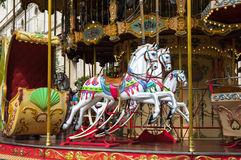 Karusell i Avignon Royaltyfri Bild