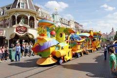 Karusell i eurodisney Royaltyfria Foton