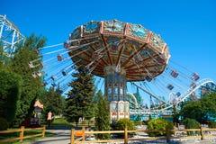Karusell i Park Fotografering för Bildbyråer