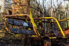 Karusell i Pripyat Royaltyfri Bild