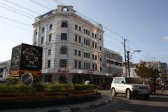 karusell mombasa CBD Arkivfoton