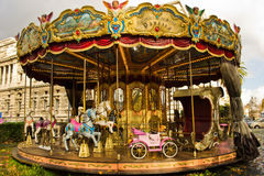 karusell rome Royaltyfria Foton