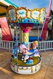 karusell utomhus royaltyfri bild