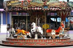 Karusell Wien Prater Arkivfoto