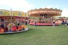 karuseller Royaltyfri Bild