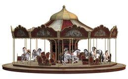 karusellfrance paris foto tagen tappning Royaltyfri Foto