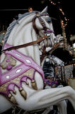 Karusellhäst Arkivbild