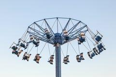 Karuselltorn på den Kemah strandpromenaden, Texas Royaltyfri Fotografi