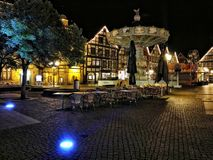Karussel i Tyskland Rinteln Fotografering för Bildbyråer