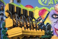 Karussell bei Luna Park stockfoto