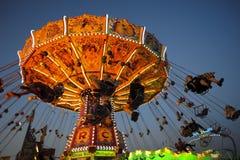 Karussell bei Oktoberfest in München Lizenzfreie Stockfotos