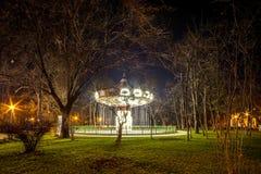 Karussell in Bukarest Lizenzfreies Stockbild