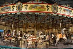 Karussell in den Stadtpark Stockbild