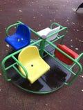 Karussell für Kinder Stockfotografie