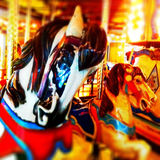 Karussell Horse Lizenzfreies Stockfoto