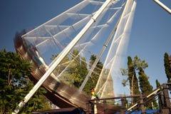 Karussell im Vergnügungspark Lizenzfreies Stockfoto