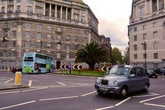 Karussell nahe Lambeth-Brücke und Millbank London, Vereinigtes Königreich Lizenzfreies Stockfoto