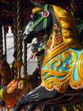 Karussell-Pferd Stockfoto