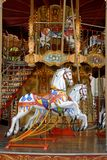 Karussell-Pferde in Avignon Lizenzfreie Stockfotografie