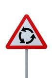 Karussell-Zeichen getrennt Lizenzfreies Stockbild