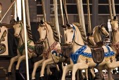 karuzela koni Zdjęcia Royalty Free