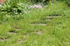 Karuzela przy zmierzchem w lecie Fotografia Stock