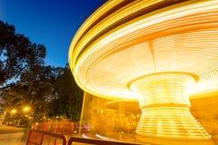 Karuzeli światło Fotografia Royalty Free
