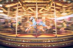 Karuzeli carousel Fotografia Stock