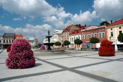 Karvina square Royalty Free Stock Photos