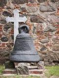 Karwe-Kirche-Glocke 库存图片