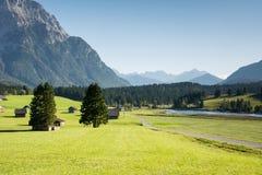 Karwendel山 免版税库存照片