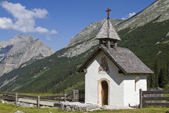 Karwendel chapel Stock Photos