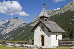 Karwendel chapel Stock Images