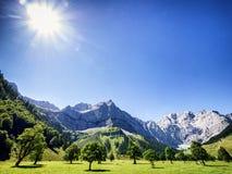 Karwendel Royalty Free Stock Images