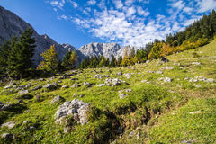 Karwendel Hinterriss-Eng Royalty Free Stock Photo