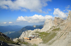 Karwendel mountain in alps Royalty Free Stock Images