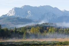 Karwendel Mountain Range Stock Photo