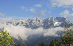 Karwendel Mountains Royalty Free Stock Photography