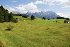 Karwendel mountains Royalty Free Stock Photo