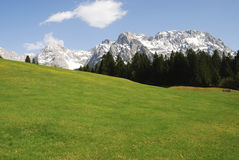 Karwendel Mountains Stock Photo
