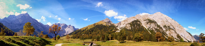 Karwendel mountains Stock Image