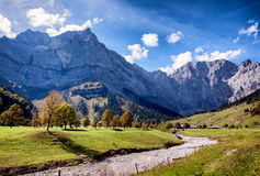 Karwendel mountains Stock Photography